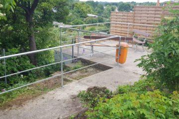 Aussichtsplattform Eingang